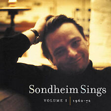 Stephen Sondheim - Sondheim Sings 1: 1962-72 [New CD]