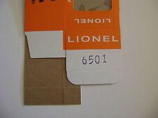 Lionel 6501Flatcar w/jet boat Licensed Reproduction Window Box