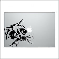 Aufkleber für Macbook Pro Sticker Vinyl laptop katze kitty air ipad funny mac 13