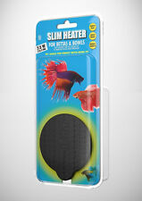 HYDOR SLIM HEATER BETTA 7.5 WATT FOR BETTAS & BOWLS. FREE SHIPPING IN THE USA