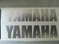 YAMAHA MUDGUARD DECAL CUSTOM STICKERS, FREE RESIZING FREE POST UK