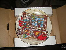 1984 Harley Davidson Christmas Plate First In Series