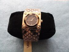New Armitron Now Quartz Ladies Watch with a Leather Band
