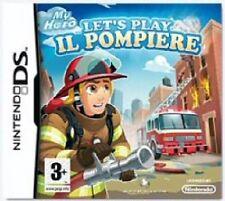 LET'S PLAY - IL POMPIERE - NINTENDO DS - NUOVO SIGILLATO ITALIANO