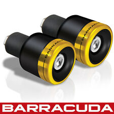 Barracuda - B-Lux Bar Ends - Gold - Universal Fit - Ducati Diavel