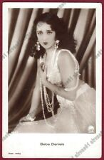 BEBE DANIELS 16 ATTRICE ACTRESS CINEMA MUTO SILENT MOVIE Cartolina FOTOGRAFICA