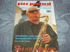 Jazz Journal   Dec  2000   Don Rendell,  Alex Hill