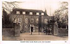 POSTCARD   LONDON   NEW  MALDEN    Malden  Golf  Club  Traps  Lane    RP