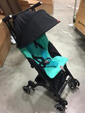 GB Pockit + Plus Travel Compact Folding Single Seat Baby Stroller in Laguna Blue