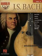Classical Bach Mandolin Sheet Music TAB ~ Invention, March, Musette, Minuet