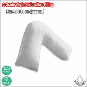 100% Hollowfibre Fillings Super Soft V Shape Pillow and Pillow Case