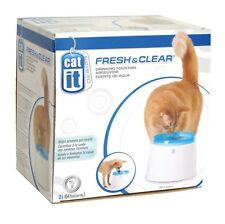 Catit Fresh & Clear Cat Drinking Fountain 2L for Dogs and Cats