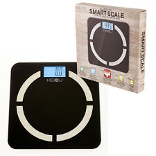 Kequ Digital Bathroom Bluetooth iOS Android Smart Weight Scale Body Fat BMI UK