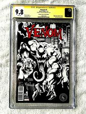 Venom #1 Jan 2017 Marvel CGC 9.8 Scorpion Sketch edition signed McFarlane
