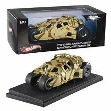 HOT WHEELS 1:18 HERITAGE BATMOBILE TUMBLER DARK KNIGHT RISES Diecast Model Car