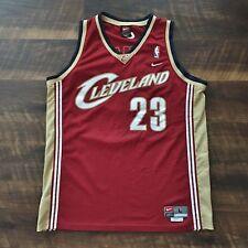 Cleveland Cavaliers Vintage LeBron James Nike Swingman NBA Basketball Jersey L