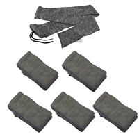 "5 x Silicone Treated Gun Sock 52"" Rifle/Shotgun Shooting Oil Air Bag Slip Cover"
