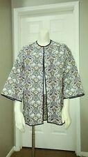 Zara Trafaluc Outerwear Bloggers Fav Jacquard Kimono/jacket M Multicolored