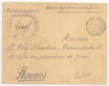 ST PIERRE D'ALLEVARD ISERE PRISONNIERS DE GUERRE. CHANTIER. 1917. L1063