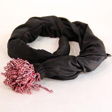 Snake Bite Snake Skin - String Holder - Black