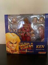 Street Fighter ~ VIOLENT KEN 1/12 SCALE ACTION FIGURE ~ Storm Collectibles