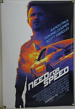 NEED FOR SPEED DS ROLLED ADV ORIG 1SH MOVIE POSTER AARON PAUL (2014)