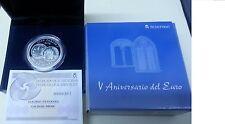 Año 2007. 10 EUROS DE PLATA. ESPAÑA. VENTANAS. V Aniversario del Euro.