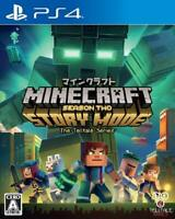 PS4 Mine craft story mode Season 2 Japan PlayStation 4 F/S