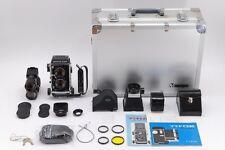 【MINT RARE SET】 Mamiya C220 Medium Format TLR Film Camera w/ 80mm etc from japan