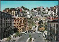 AA5477 Napoli - Città - Piazza Amedeo - Cartolina postale - Postcard