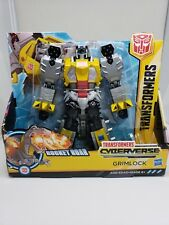 Transformer Cyberverse Ultra Class Grimlock Rocket Roar Hasboro New