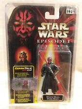Star Wars Episode 1 Darth Maul Error Double Name Placard Variant Packaging 1999