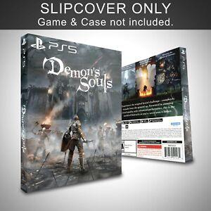 Demons Souls PS5 Slip Cover Only Custom Handmade (NO GAME)