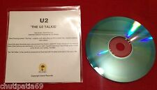 U2 'THE U2 TALKIE' CD Blue Acetate Promo