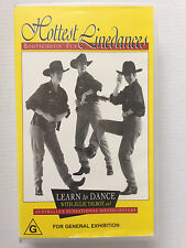 HOTTEST LINEDANCES ~ BOOTSCOOTIN' FUN ~ JULIE TALBOT  ~ RARE VHS VIDEO