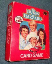 Dukes of Hazzard 1981 Card Game UNO