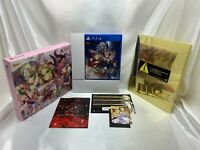 SONY PS4 Fate Extella Regalia BOX Limited Edition PlayStation 4 from Japan