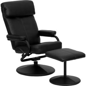 Flash Furniture Black Bonded Leather Recliner, Black - BT-7863-BK-GG