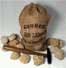 Break your own GEODES,  Natural Hollow Crystal Specimens 2lbs