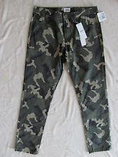 Hudson Jagger Slim Pants- Green Camo Camouflage - Boy's Size 20 -NWT