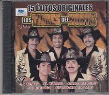 Los Tigres Del Norte 15 Exitos Originales Vol 6  CD New Sealed