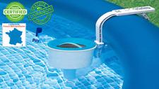 Skimmer de surface Deluxe pour piscine,Outil de nettoyage Piscine fixation simpl