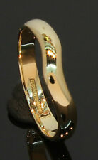 18 Carat Yellow Gold Shaped Wedding Ring 2.8mm Size J (80.20.100)