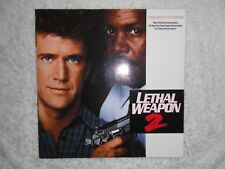 LETHAL WEAPON 2 OST LP GEORGE HARRISON BEACH BOYS ERIC CLAPTON 1989 EXC