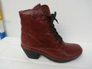 FLY London Red Boots for Women for sale