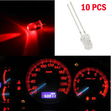10X Red 5mm Mini LED Bulbs Instrument Cluster Panel Backlight Gauge Dash Lights