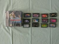 Nintendo GameBoy Advance lot of 13 GAMES