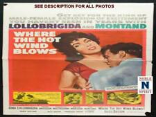 "NobleSpirit NO RESERVE 1960 Where the Hot Wind Blows 27x41"" Folded Movie Poster"