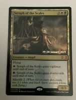 1x Seraph of the Scales Foil Prerelease Promo NM-Mint FREE SHIPPING NM