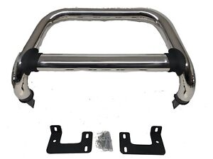 Ford Ranger T6 & T7 2012-2020 Chrome Nudge Bull A Bar Frame NEW (N10)